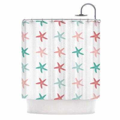 Afe Images Starfish II Illustration Shower Curtain