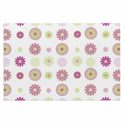 Afe Images Floral Digital Doormat