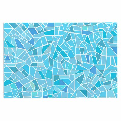 Afe Images Abstract Mosaic Pastel Illustration Doormat