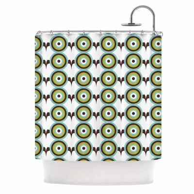Afe Images Circles Illustration Shower Curtain