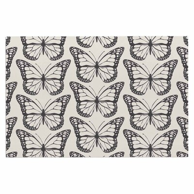 Amanda Lane Monarch Spirit Illustration Doormat