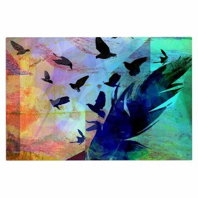 AlyZen Moonshadow Not Quite Birds of a Feather Doormat