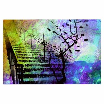 AlyZen Moonshadow Stairway Tree Doormat