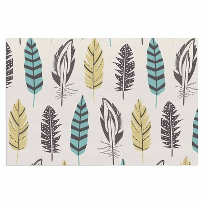 Amanda Lane Feathers Digital Doormat
