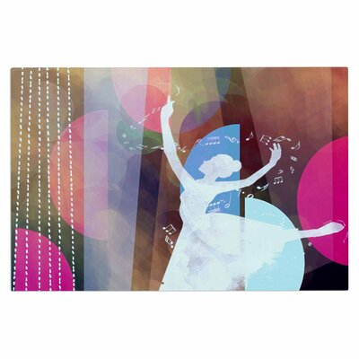 AlyZen Moonshadow Ballet Geometric Doormat