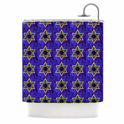 Anne LaBrie Davids Starry Sky Shower Curtain
