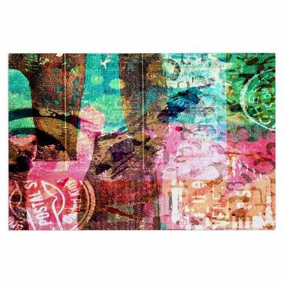 AlyZen Moonshadow Abstract Doormat