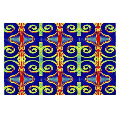 Anne LaBrie Swirl Away Doormat