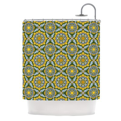 Alison Soupcoff Sunflower Shower Curtain