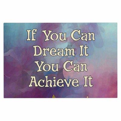 AlyZen Moonshadow If You Can Dream It Digital Doormat