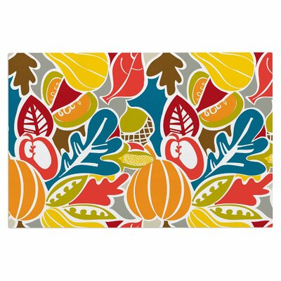 Agnes Schugardt Fall Harvest Food Doormat
