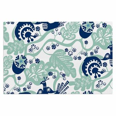 Agnes Schugardt Folk Bird Vector Doormat