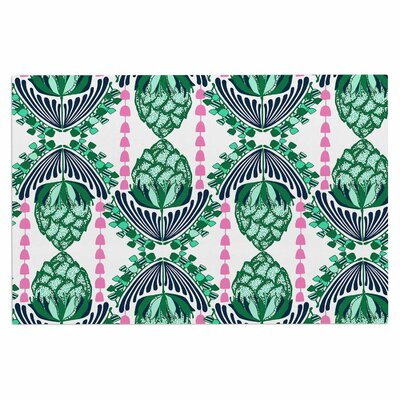 Amy Reber Tassles Line Illustration Doormat