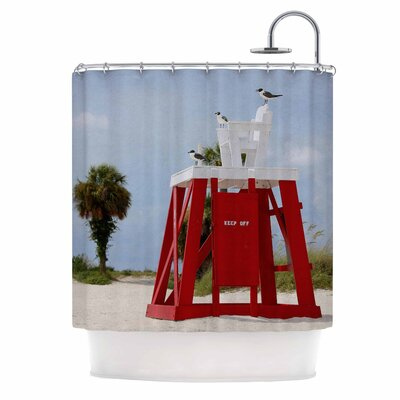 Angie Turner Keep Off Shower Curtain