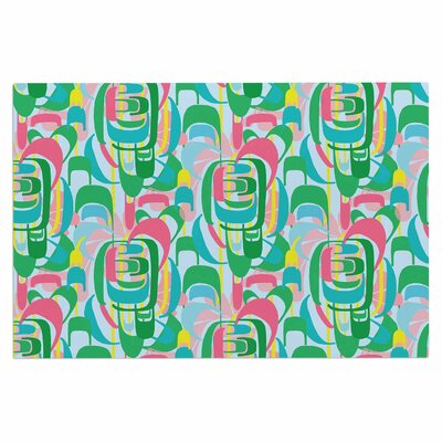 Amy Reber Rainbow Geometric Doormat