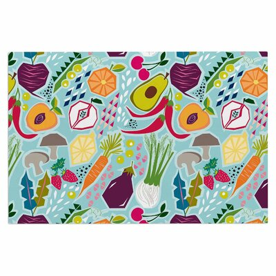 Agnes Schugardt Garden Song Food Doormat
