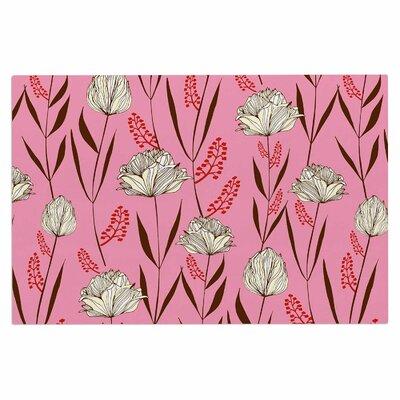Amy Reber Floral Doormat