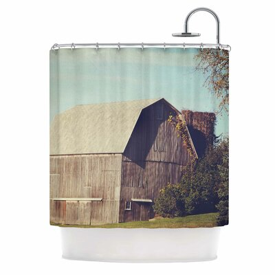 Angie Turner Barn Shower Curtain