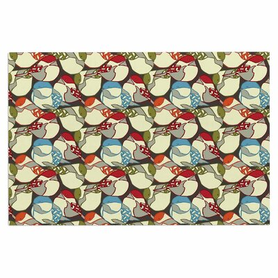 Amy Reber Chickadees Doormat