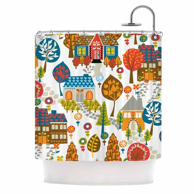 Agnes Schugardt in the Village Shower Curtain