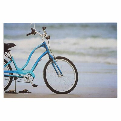 Angie Turner Beach Bike Doormat