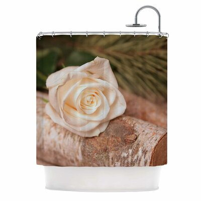 Angie Turner Rustic Romance Shower Curtain