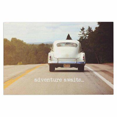 Angie Turner Adventure Awaits Doormat