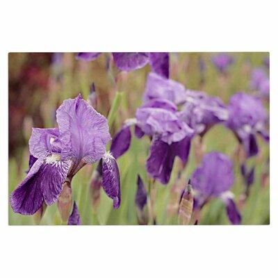 Angie Turner Irise Floral Doormat