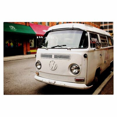 Angie Turner VW Bus Vintage Doormat