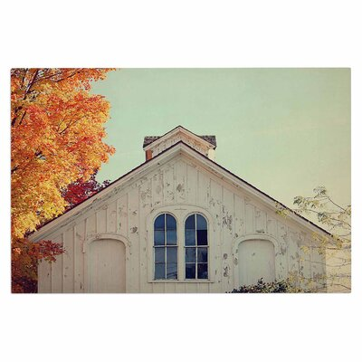 Angie Turner Fall Barn Top Photgraphy Doormat