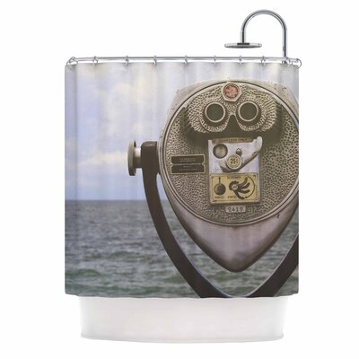 Angie Turner Ocean View Shower Curtain