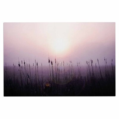 Angie Turner Sunrise Cattails Doormat