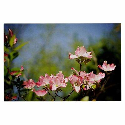 Angie Turner Dogwood Digital Floral Doormat