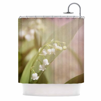 Angie Turner Lily of the Valley Shower Curtain