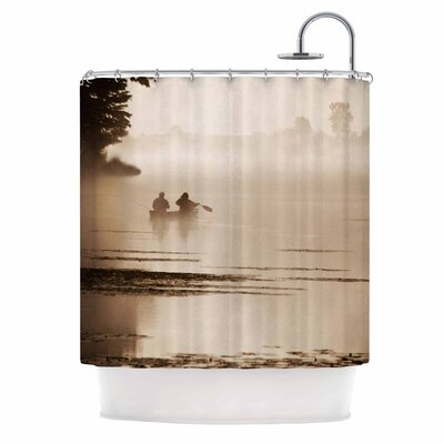 Angie Turner Misty Morning Shower Curtain