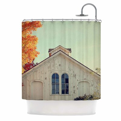 Angie Turner Fall Barn Top Photgraphy Shower Curtain