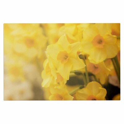 Angie Turner Dreamy Daffodil Nature Doormat
