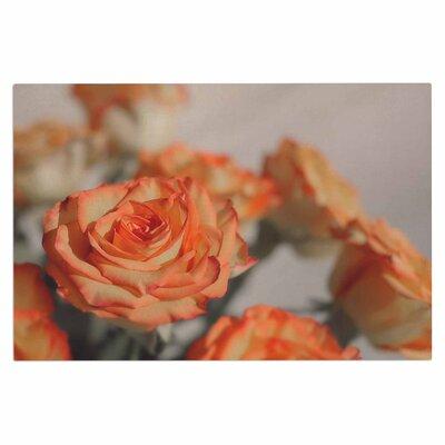 Angie Turner Roses Floral Doormat