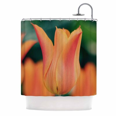 Angie Turner Tulip Shower Curtain