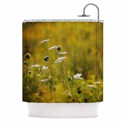 Angie Turner Hour Digital Nature Shower Curtain