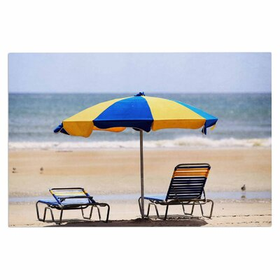 Angie Turner Umbrella Coastal Photography Doormat