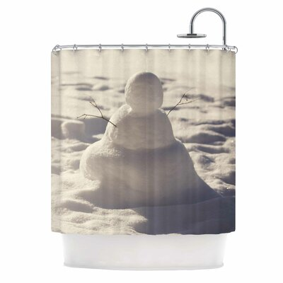Angie Turner Snowman Nature Shower Curtain