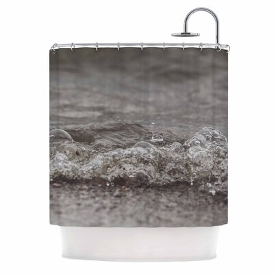 Angie Turner Beach Bubble Coastal Shower Curtain