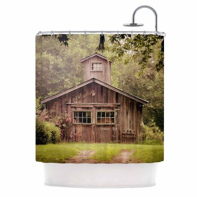 Angie Turner Shabby Elegance Barn Nature Photography Shower Curtain