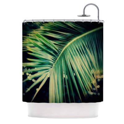 Angie Turner Palm Frond Nature Shower Curtain