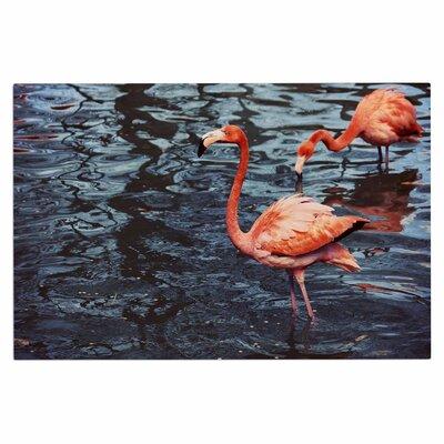 Angie Turner Flamingo Animals Doormat