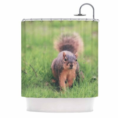 Angie Turner Squirrel Animal Shower Curtain