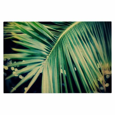 Angie Turner Palm Frond Nature Doormat