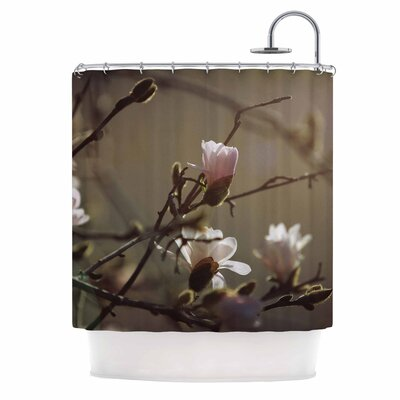 Angie Turner Magnolia Bloom Shower Curtain