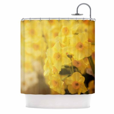 Angie Turner Dreamy Daffodils Nature Shower Curtain